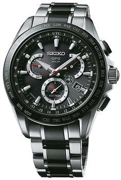 Watch Seiko Astron Sse041j1 Mens Black