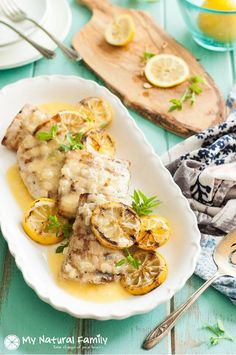 This grilled Mahi Mahi recipe in a lemon butter sauce is a really good copycat recipe I made up after eating it in one of my favorite restaurants.