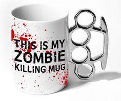 zombie killing mug