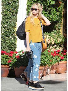 Elle Fanning street style