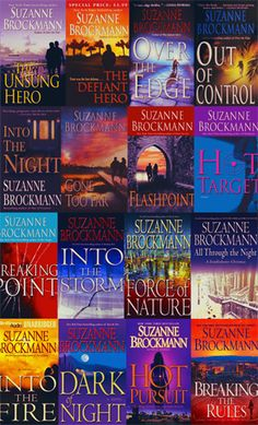 The Troubleshooters Series by Suzanne Brockmann