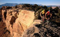 Mountain biking..scary...