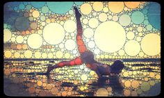 Yoga Art - John Dalton | Loved and pinned by www.downdogboutique.com