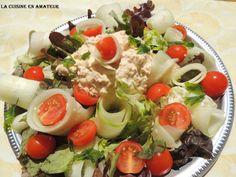 La cuisine en amateur de Maryline: Salade de crudités et thon