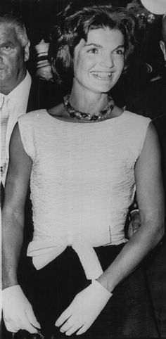 I was only 10 when the Kennedys came to the White House and I remember that my parents weren't pleased, but I loved the fact that John and Jacqueline Kennedy were young and attractive and smiled a lot. It was a nice change - at least to me. - Ronni