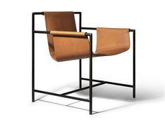 Cadeira de couro MING'S HEART by Poltrona Frau design Shi-Chieh Lu
