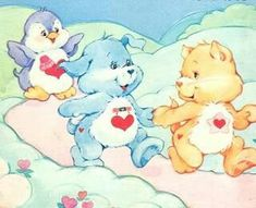 Care Bear Cousins: Cozy Heart Penguin, Loyal Heart Dog, and Proud Heart Cat Care Bear Party, Nursery Book, Bear Coloring Pages, Cute Cartoon Characters, Bear Pictures, Bear Wallpaper, Bear Art, Patch Kids, Care Bears