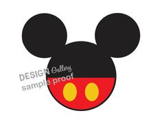 Mickey Mouse Disney DIY Printable Iron On t shirt Transfer Instant Download