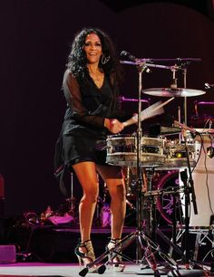 Sheila E.- The Queen of Percussion! Girl Drummer, Female Drummer, Music Love, Live Music, Soul Music, Rockers, Drums Girl, Play Drums, Bongos