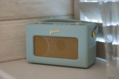 A Roberts radio - every home should have one! In the right colour of course!
