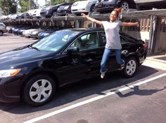 "Ardmore Toyota congratulates Jettah on her new Toyota Camry! We hope you enjoy every moment in your new Camry and are jumping like this each time you get out of your car! LOL! Thank you from Peter, Londale and everyone at Ardmore Toyota!"" #OhWhatAFeeling #JumpForJoy"