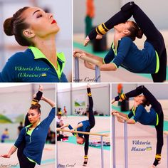 Viktoria MAZUR (Ukraine) @ World Challenge Cup in Guadalajara-Spain ~ Ballet training 02-04/06/'17  Photographer Fanny Corfyl.
