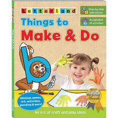 Activities Teach Basic Craft Skills Introduce Children To New Vocabulary And Them The Alphabet
