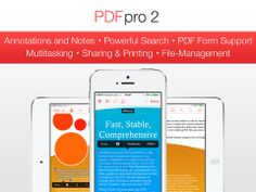 #PDF Pro 2 Lands On #iOS: The team behind the popular PDF Pro for iOS, has just released a sequel to the app called PDF Pro 2.... Read more at: http://www.topapps.net/apple-ios/pdf-pro-2-lands-on-ios.html/