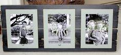Triple 5 x 7 Distressed Grey Frame / Coastal by WestAshleyWallArt, $55.00