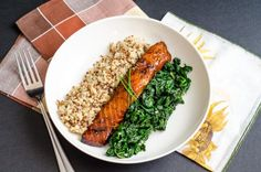 Brown Sugar Salmon by dianeabroad: You can personalize this with your favorite flavors like mustard, lemon or cumin or grill it on a cedar plank. Serve it with greens and quinoa and celebrate healthy you! #Salmon #Brown_Sugar