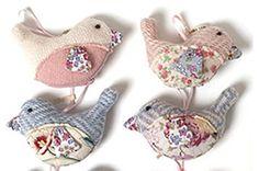 Lavender bird bags More