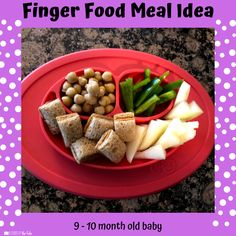 Babies Eating at 10 Months - Lessons By The Lake 10 Months Baby Food, 10 Month Old Baby Food, Baby Food By Age, Food Baby, Baby Meal Plan, Baby Finger Foods, Baby Foods, Whole Wheat Waffles, Baby Solid Food