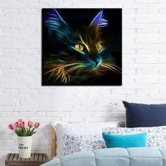 Animals Cat 5D Square DIY Diamond Painting Mosaic Cross Stitch Kit Embroidery Wall Craft Paint 30x30cm Hogard