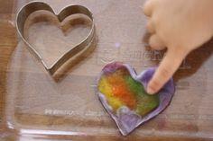 Take home lessons from a Waldorf preschool - Simple Homeschool Waldorf Preschool, Waldorf Crafts, Wet Felting Projects, Felting Tutorials, Nuno Felting, Needle Felting, Art For Kids, Crafts For Kids, Wooly Bully