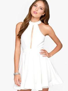 Pure Cascade Dress