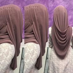Likes, 110 Comments – Calisir.Makyaj ( on Instagr… – Hijab Fashion 2020 Turban Hijab, Hijab Dress, Hijab Outfit, Square Hijab Tutorial, Hijab Style Tutorial, Wedding Hijab Styles, Hijab Wedding Dresses, Wedding Abaya, Stylish Hijab