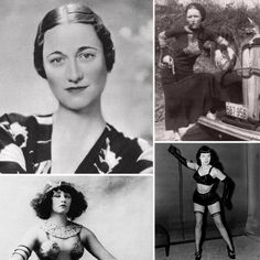 (Scandalous Women in History) They sure do look like they think they're all that. I wonder what got in their heads to make them act the way they did...