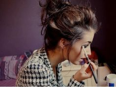 10 tips for quick makeup--this whole website is really interesting!