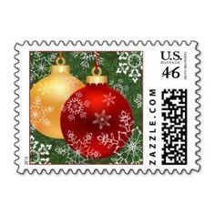 #Christmas Postage Stamps