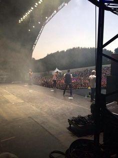 The Wanted no Fusion Festival, em Birmingham, na Inglaterra #CoberturaTWBR (via @liveforboybands)