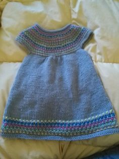 vestito bimba 12 mesi lavorato a mano