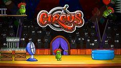 Circus - Disfruta de una emocionante carrera bajo la gran carpa del circo, utiliza los elementos del circo para hacerlos disfrutar a todos.