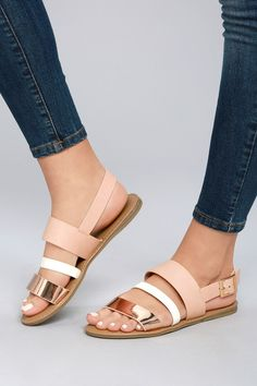0b17aae7e1dd 19 Best rose gold sandals images