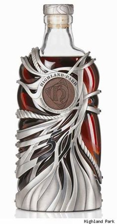 I would drink this just for the bottle. It would be a $17,500 bottle .. lol 13 Most Expensive Whiskies - World Most Expensive