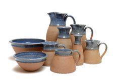 The Northumbrian Craft Pottery - Duckegg Blue