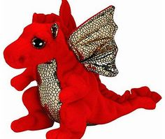 Ty Legend the Red Dragon - Ty Beanie Babies Official Ty product with the authentic Ty heart-shaped tag! Extra huggable Part of the Ty Beanie Babies Collection Handmade with the finest quality standards Ty from our (Barcode EAN = 0008421411467) http://www.comparestoreprices.co.uk/beanie-babies/ty-legend-the-red-dragon--ty-beanie-babies.asp
