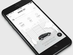I think every designer has wanted to do a daytime/nighttime concept on a design at some point.   On this valet app, I really wanted to make it as real world as possible so if it was night time, the...