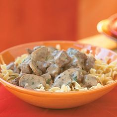 Slow Cooker classic beef stroganoff from Cooking Light hey-good-looking-watcha-got-slow-cooking