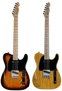 Cool... Larrivée makes electric guitars now. This is the Bakersfield. Looks pretty rad.