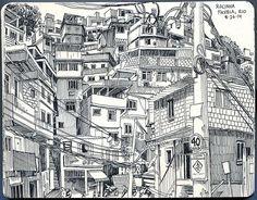 Rocinha Favela, Rio de Janeiro - Paul Heaston: