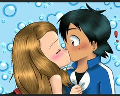 Beautiful ♡ Amourshipping ^.^ ♡
