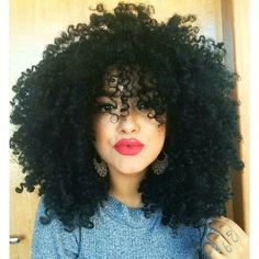 Kinky Curly Wigs For African American Women The Same As The Hairstyle In The Picture - Wigs For Black Women - Lace Front Wigs, Human Hair Wigs, Short Wigs, Curly Wigs, Bob Wigs Kinky Curly Wigs, Kinky Hair, Human Hair Wigs, Wig Styling, Styling Tips, Curly Hair Styles, Natural Hair Styles, Pelo Natural, Natural Baby