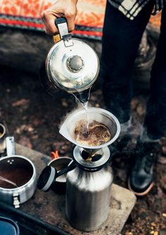 The smell of bacon sizzling, a mug of (truly good) coffee as you roll out of your sleeping bag. It's not just romantic, it's our birthright as Americans. Oh, and it's delicious, too. Pack up the wagon, we're going camping.