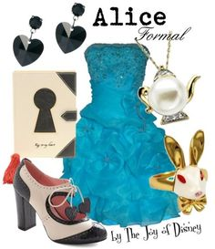 Formal outfit inspired by Alice in Wonderland! I actually own that adorable Book Clutch, and I love it to pieces!