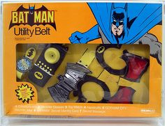 Utility Belt - I had the Spider-Man utility belt set, but I always coveted the Batman one.