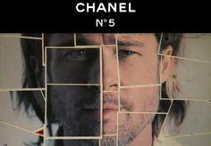 Brad Pitt para Chanel, por primera vez un hombre es elegido para imagen de un perfume !!!!
