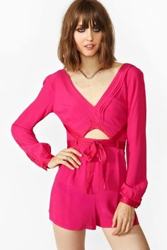 The Lovers Romper #Bottoms #HOT-PINK #onlinestore #fashion #socialbliss