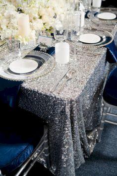 awesome 47 Stunning Winter Wonderland Wedding Tables Ideas  http://viscawedding.com/2018/01/23/47-stunning-winter-wonderland-wedding-tables-ideas/
