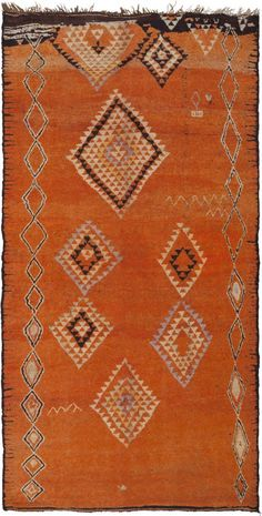 1000 Ideas About Orange Rugs On Pinterest Rugs Brown