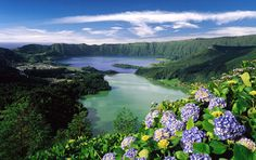 Lagoa dos Sete Cidades, Sao Miguel Azores.  - This is very close to where my Dad grew up.  I've been lucky enough to visit.  :)